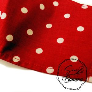 red dots face mask