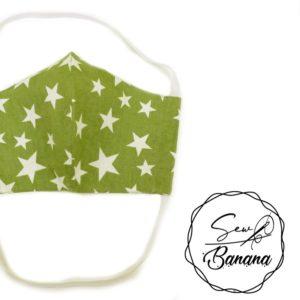 green star face mask