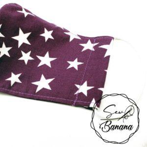 purple star face mask