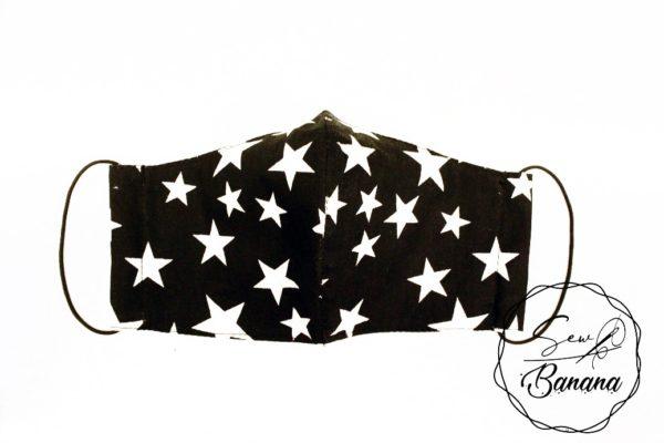black star face mask