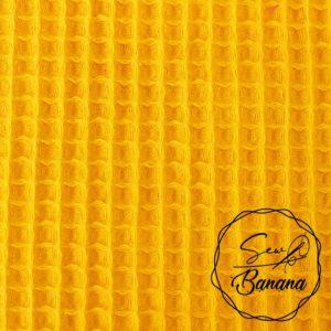 golden road waffle piqué