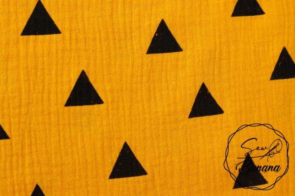 black triangle muslin