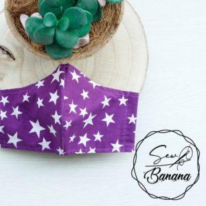 purple star mask
