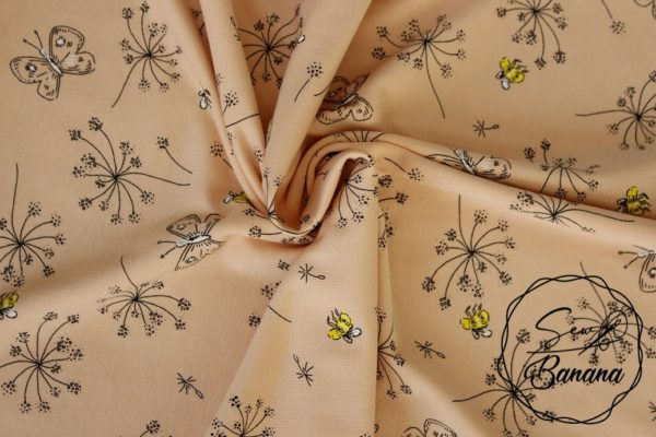 bees Pale Peach jersey