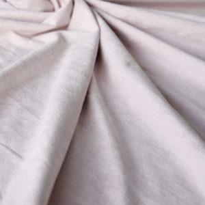 pale pink stretch suede
