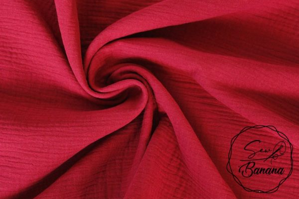 Rumba Red muslin