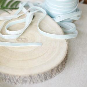 Icy Morn, 1 cm velvet ribbon