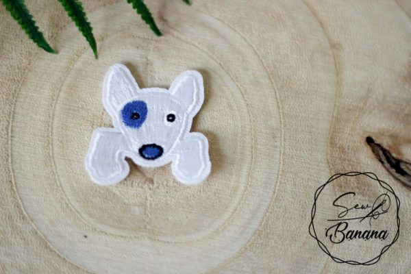 doggy embroidery