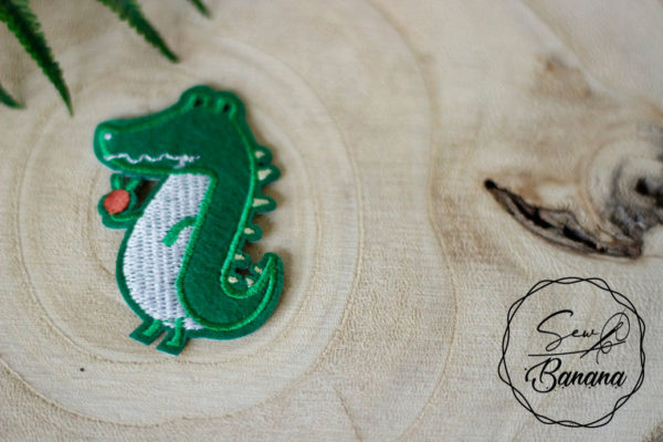 crocodile iron on