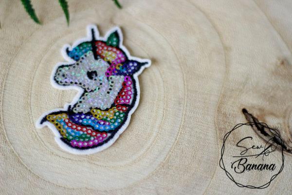unicorn iron on