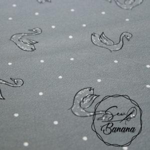 Jenny trellis swan dream cotton