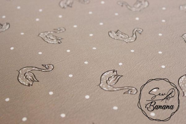 Jenny Stucco swan dream cotton