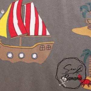Pirates, Charcoal Gray