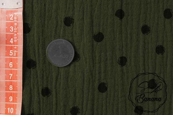 doti Deep Lichen Green muslin