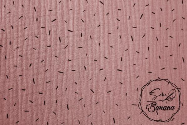 Zephyr sprinkles muslin